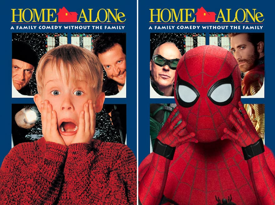 Spider Man Starring Home Alone