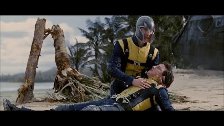 Magneto paralyzed Professor X