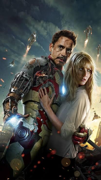 Tony Stark and Pepper