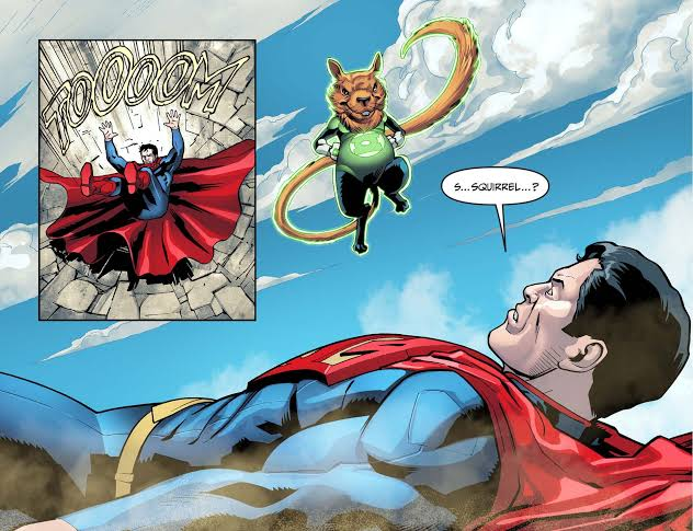 Ch'p defeated Superman