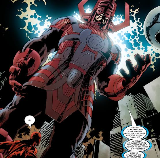Marvel Galactus Villians