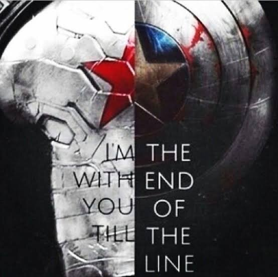 """I'm With You Till The End Of The Line"""""""