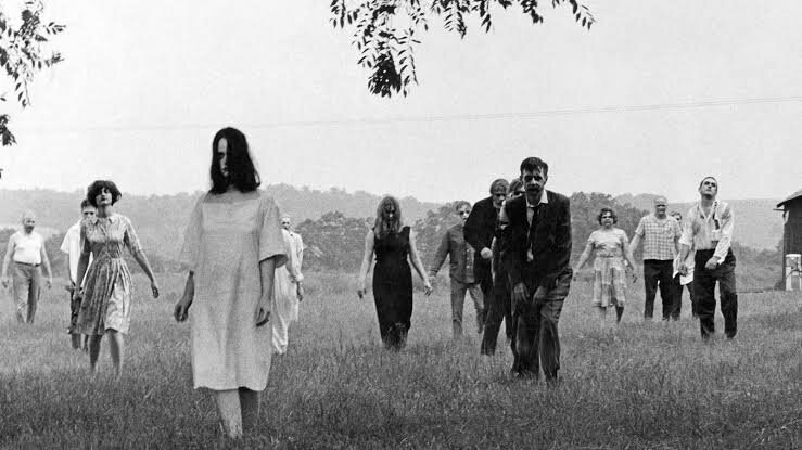 The night of the living dead movie