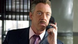 J Jonah Jameson in Spider-Man (2002)
