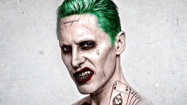 Leto's old Joker look