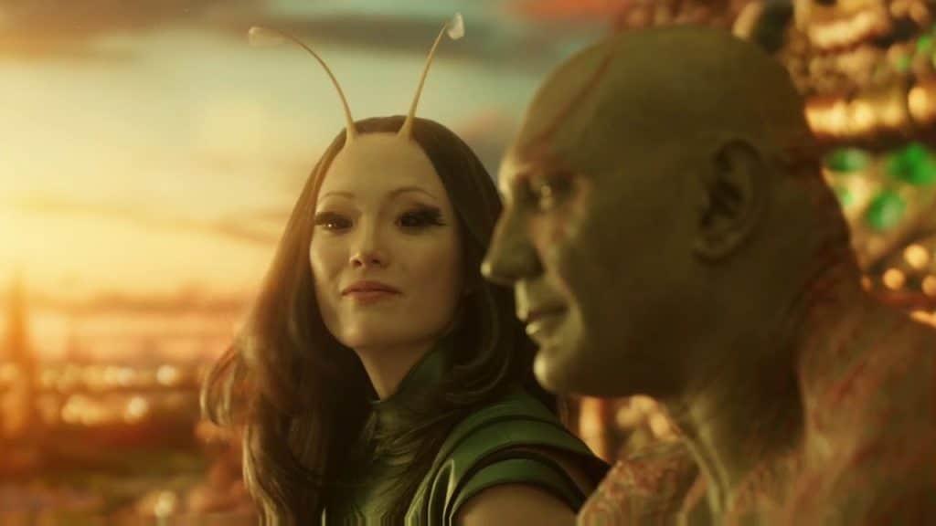 The naive Drax and Mantis