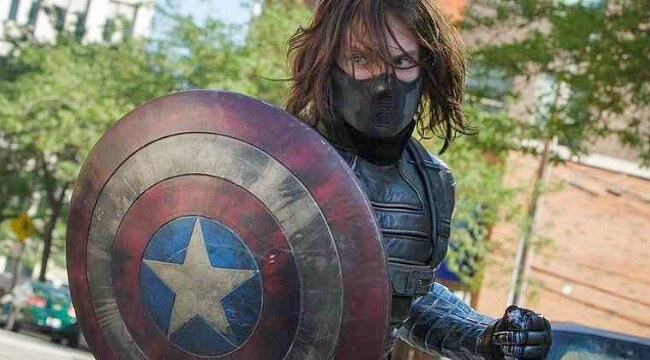 Bucky follows the tradition of using Cap's shield