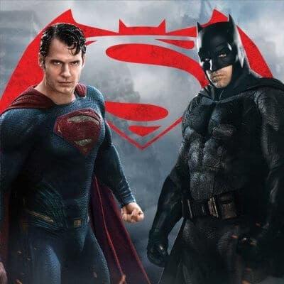 The major fight between Superman and Batman