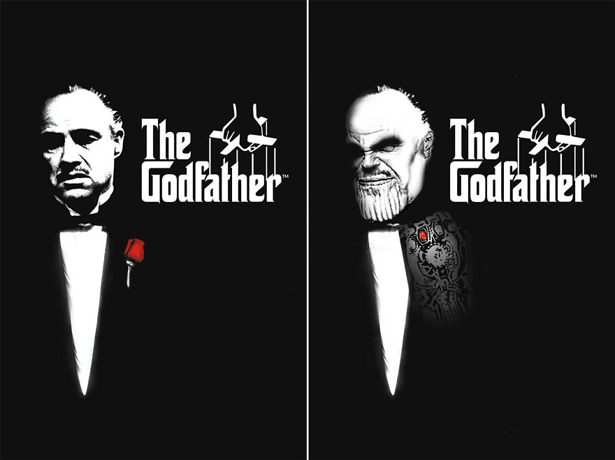 Thanos Starring The Godfather