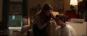 Aunt May and Peter Parker in Homecoming