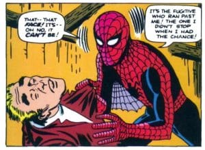 Death of Uncle Ben in the comics