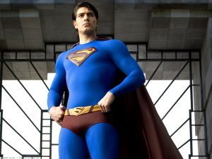 Brandon Routh as Superman in 2006's Superman Returns