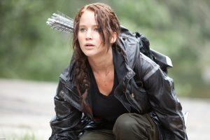 Jennifer Lawrence as Katniss nailed the role