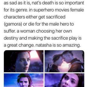 Natasha choosing her destiny