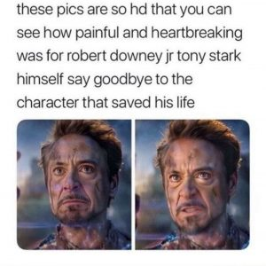Original Avengers Iron Man Final Moment