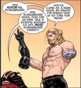 Comic Book Thor Amputee