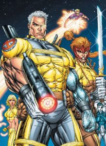 Comic book Nathan Summers Cable