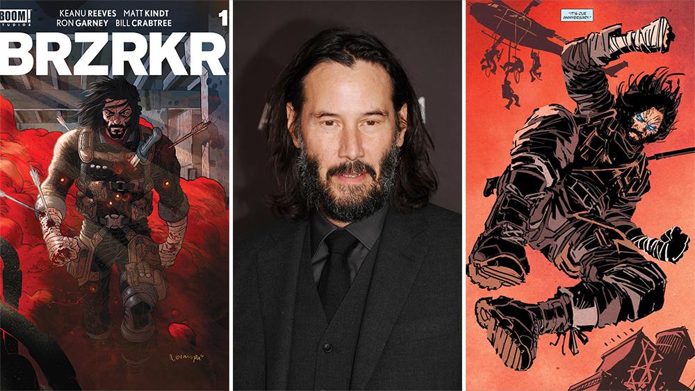 BRZRKR starring Keanu Reeves is set to premiere on Netflix soon