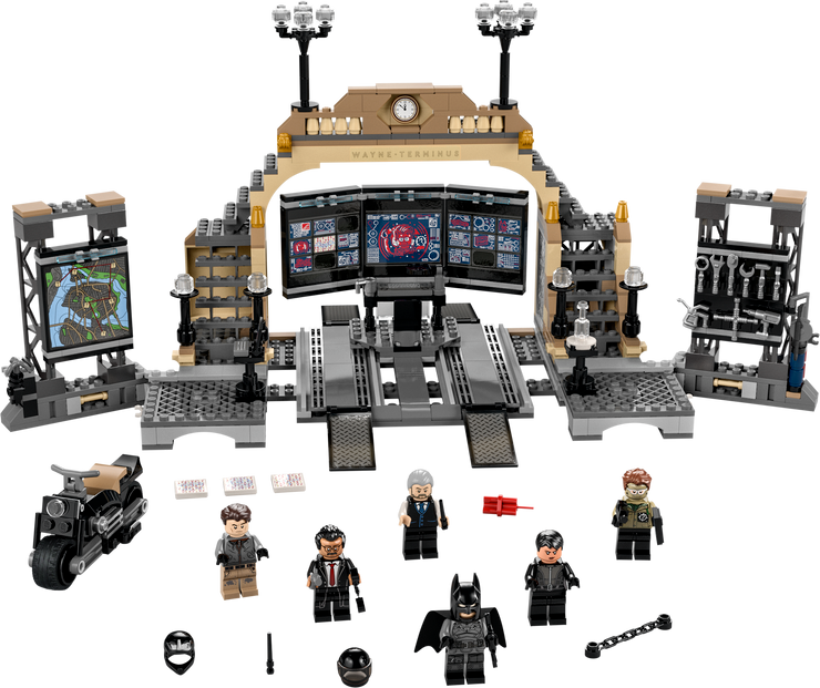 LEGO set featuring Reeves' The Batman