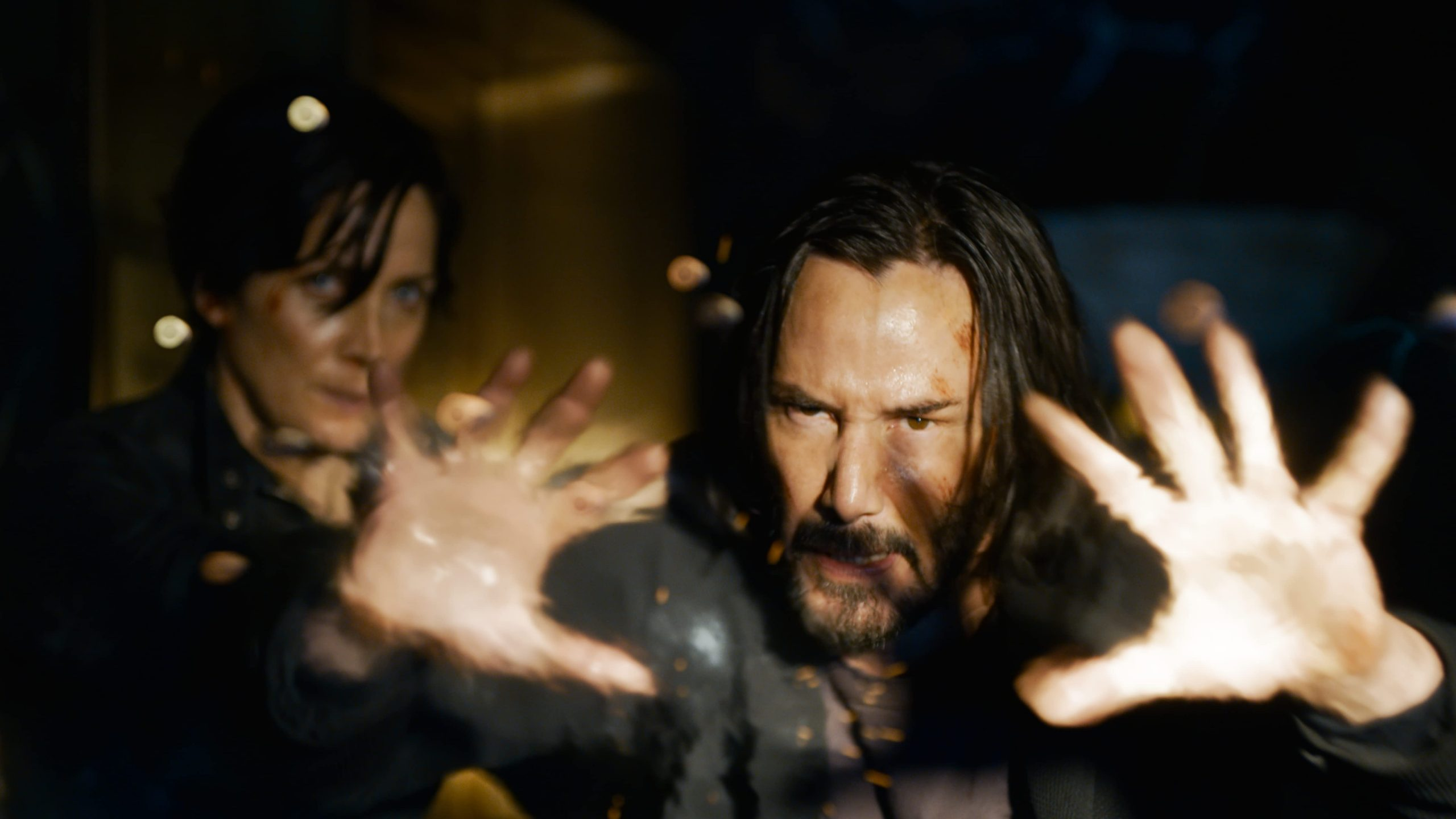 Keanu Reeves in The Matrix Ressurections