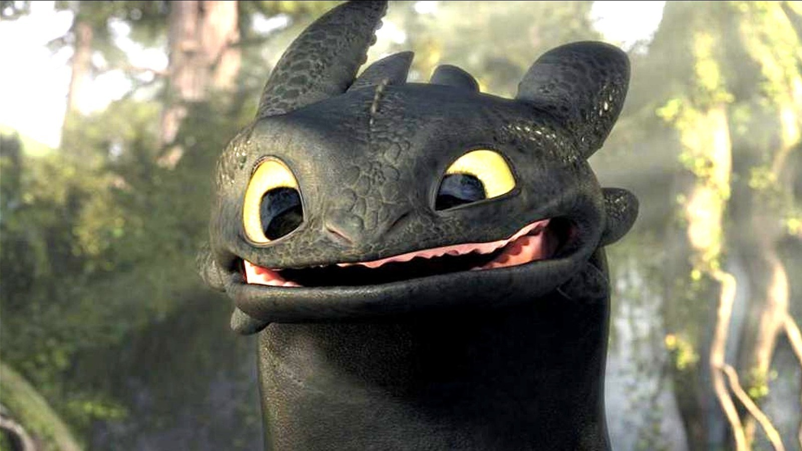Toothless in How To Train Your Dragon